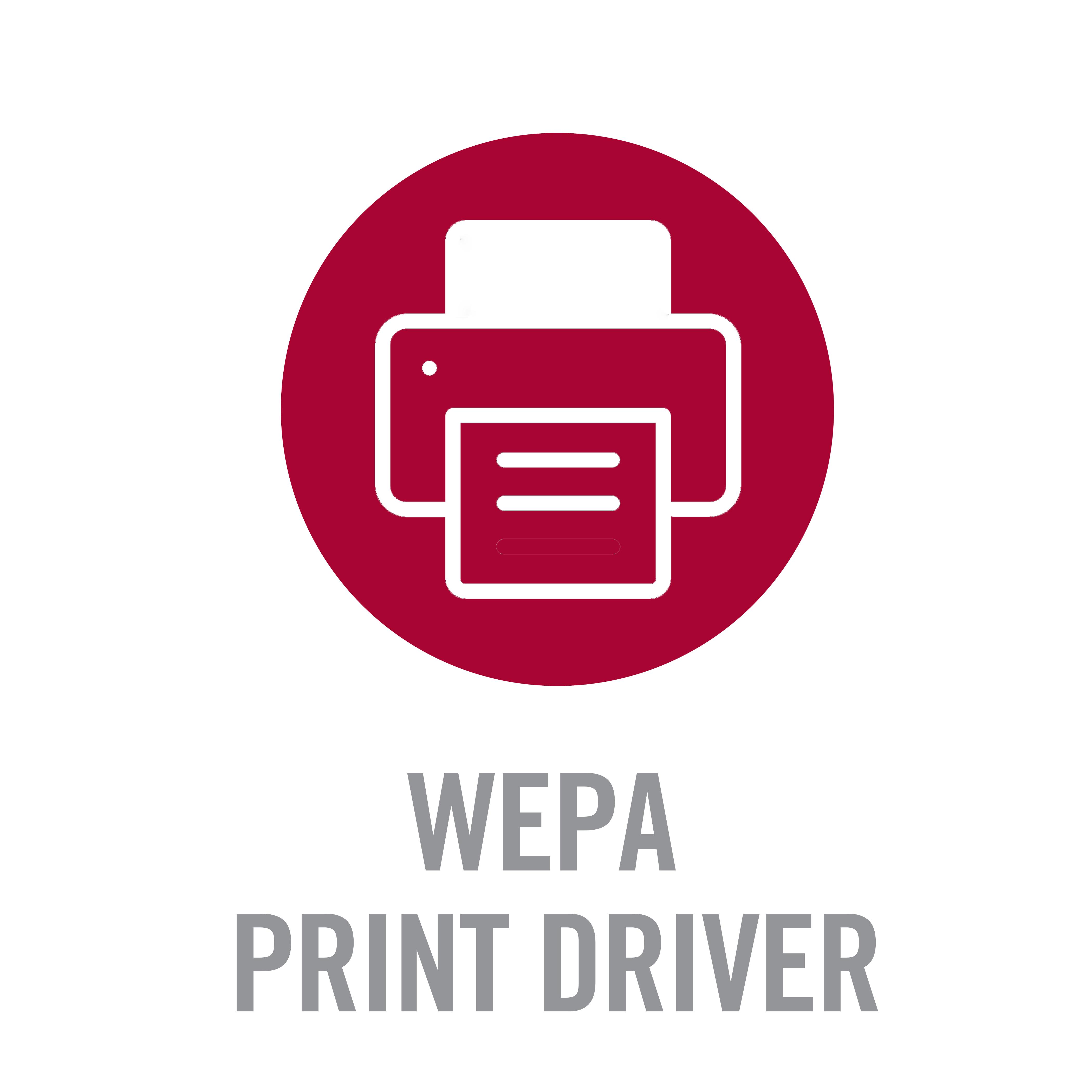 Wepa Print Driver